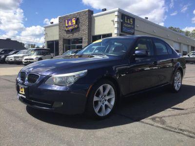 2008 BMW 5-Series 535xi (Deep Sea Blue Metallic)