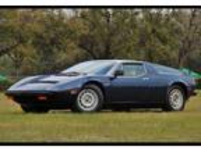 1977 Maserati Bora Low Miles, Italian Sport Car