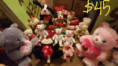 New Easter plush toy lot