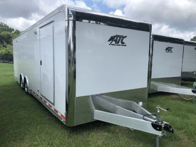 New 2020 8.5 x 28 ATC Race Trailer