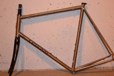NEW Greg Lemond Titanium frame and Ritchey Carbon Fork