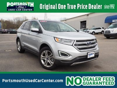 2018 Ford Edge and (silver)