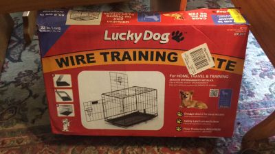 Brand New Lucky Dog Wire Training Crate