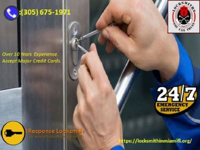 Want lock repair and open service in Miami Florida. Call Us
