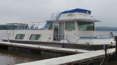 """1978 Haute-Line Houseboat 43"""""""