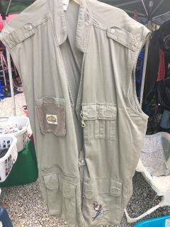 Warner Bros-Mens Fishing Vest Size XXL $15 Must PU In McDonough