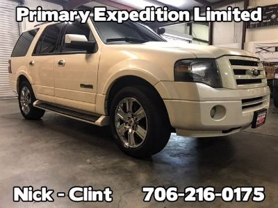 2007 Ford Expedition Limited (White)