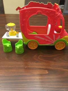 Shopkins groovy smoothie truck
