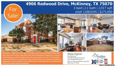 Home for Sale in McKinney, TX