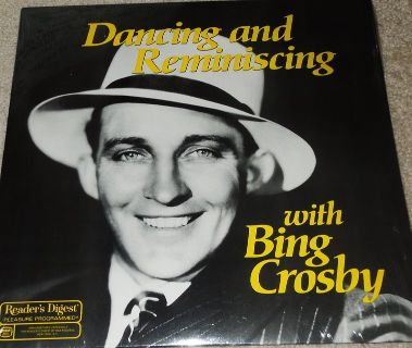 "Collectors Readers Digest ""Dancing And Reminiscing With Bing Crosby"" New-Sealed"