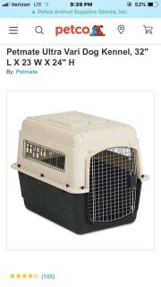 Pet Mate large kennel