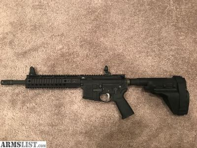For Sale: 300 blk out AR 15 Pistol Spikes lower/PSA upper