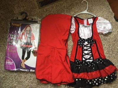 Little Red Riding hood Halloween Costume size 8-10