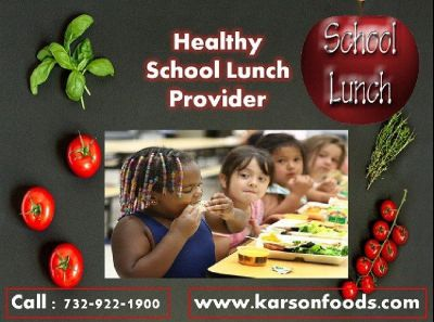Healthy School Lunches Program NJ – Karson Foods | Call 732-922-1900