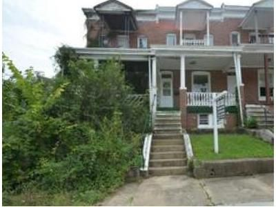 3 Bed 1 Bath Foreclosure Property in Baltimore, MD 21216 - Baker St