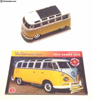 1965 VW Samba Bus, 21 Window 1/64th Diecast Model