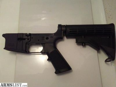 For Sale: AR15 Lower