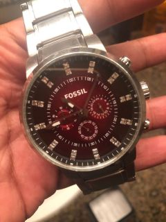 Real Fossil Watch