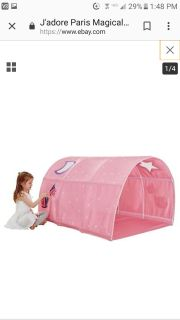 BRAND NEW! Tunnel tent- can put on twin bed