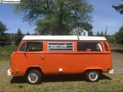 Bay Window Camper 1973 AUTOMATIC