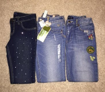 Girls Denim Jeans-Size 10