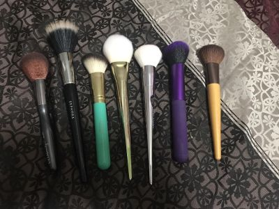 Makeup face brushes all for $15 firm
