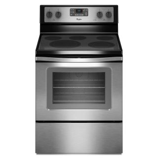 Whirlpool Stainless Smooth Top Range with Convection WFE530C0ES
