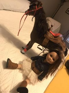 Doll and horse