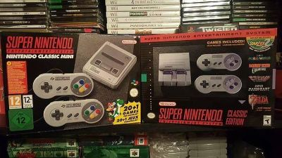 Super Nes Classic Edition hacked and brand new