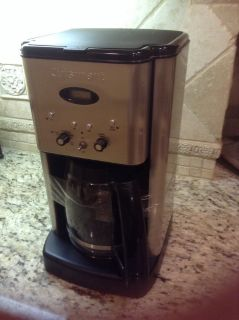 Cuisinart Coffee maker brushed stainless 12 cup programmable