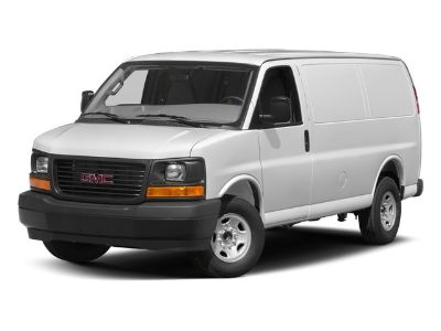 2017 GMC Savana Cargo Van Work Van (Summit White)