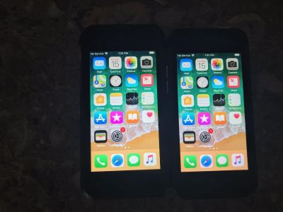 Iphone 5s 16gb space grey Boost Mobile 2 phones