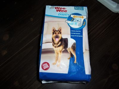 Wee-Wee Products Disposable Dog Diapers