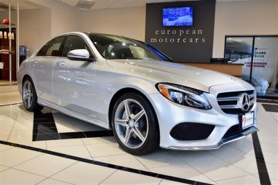 2016 Mercedes-Benz C-Class C 300 Sport 4MATIC (Iridium Silver Metallic)