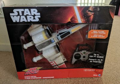 * NEW * Air Hogs Star Wars RC X-Wing Starfighter
