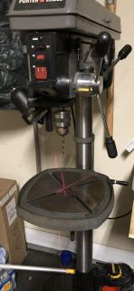 Porter Cable 8 amp 12 speed floor drill press