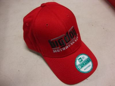 Sell BIG DOG MOTORCYCLES RED HAT 9 FORTY ADJUSTABLE EMBROIDERED LOGO K-9 PITBULL motorcycle in Lyons, Kansas, United States, for US $19.99