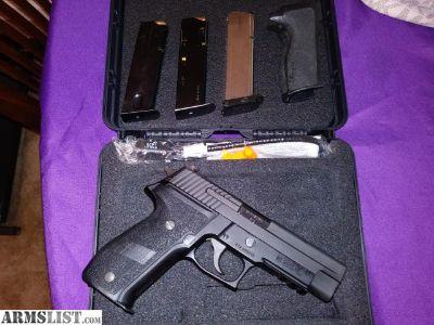For Sale/Trade: Lnib Sig p226 9mm nitron