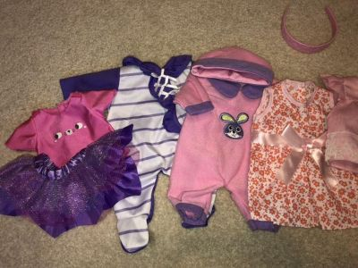 Doll clothes for Baby Alive