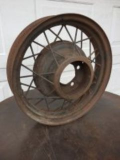 "17"" Ford Wire Wheel"