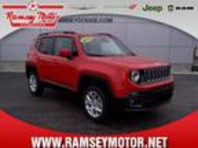 2018 Jeep Renegade Red, 23 miles