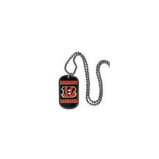 Cincinnati Bengal Dog Tag Necklace