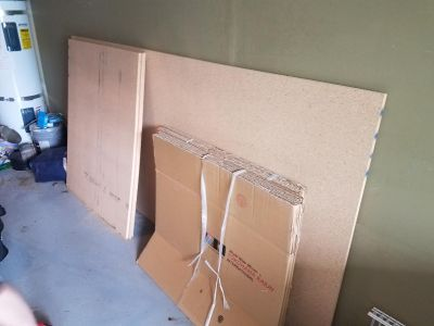 8x4 foot particle board