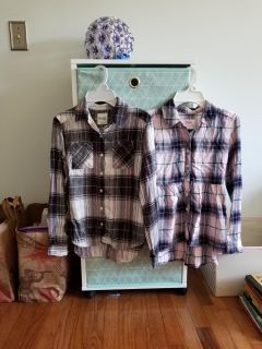 Super cute girls size 12 Justice and Mudd tops