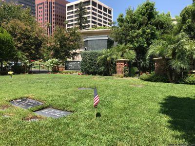 Westwood Memorial Park Cemetery Plot ** GARDEN ESTATE Double Plot ** Private & Beautiful!