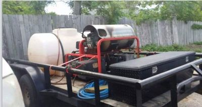 $5,800, pressure washer rig