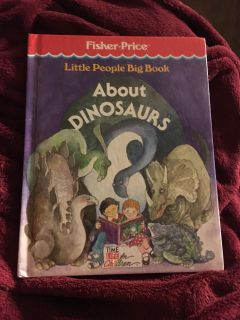 Little People Big Book About Dinosaurs