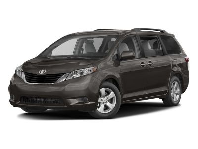 2017 Toyota Sienna LE (Midnight Black Metallic)