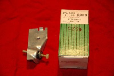 Purchase 1960 64 CHRYSLER STOP LIGHT SWITCH BENDIX 80228 DELCO C851 NOS NEW motorcycle in Justice, Illinois, United States, for US $24.95
