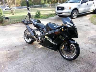looking to trade 04 suzuki gsxr1000 for mustang gt 5 speed (pineville)